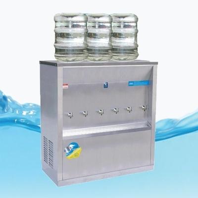 ตู้ทำน้ำเย็น 3ก๊อก แบบถังคว่ำ 3 ถัง รังผึ้ง รุ่นMC-6P_SP
